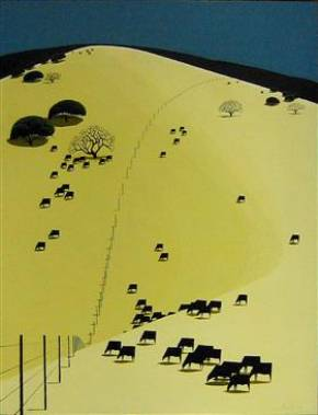 Eyvind Earle - illustration, animation